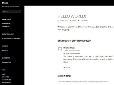 screenshot-after-applying-the-child-theme-for-wordpress