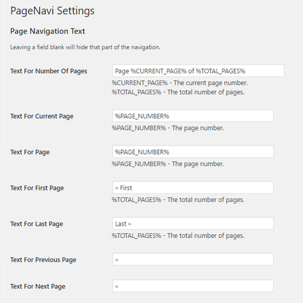 Make your wordpress theme wp pagenavi plugin compatible for Making a wordpress template