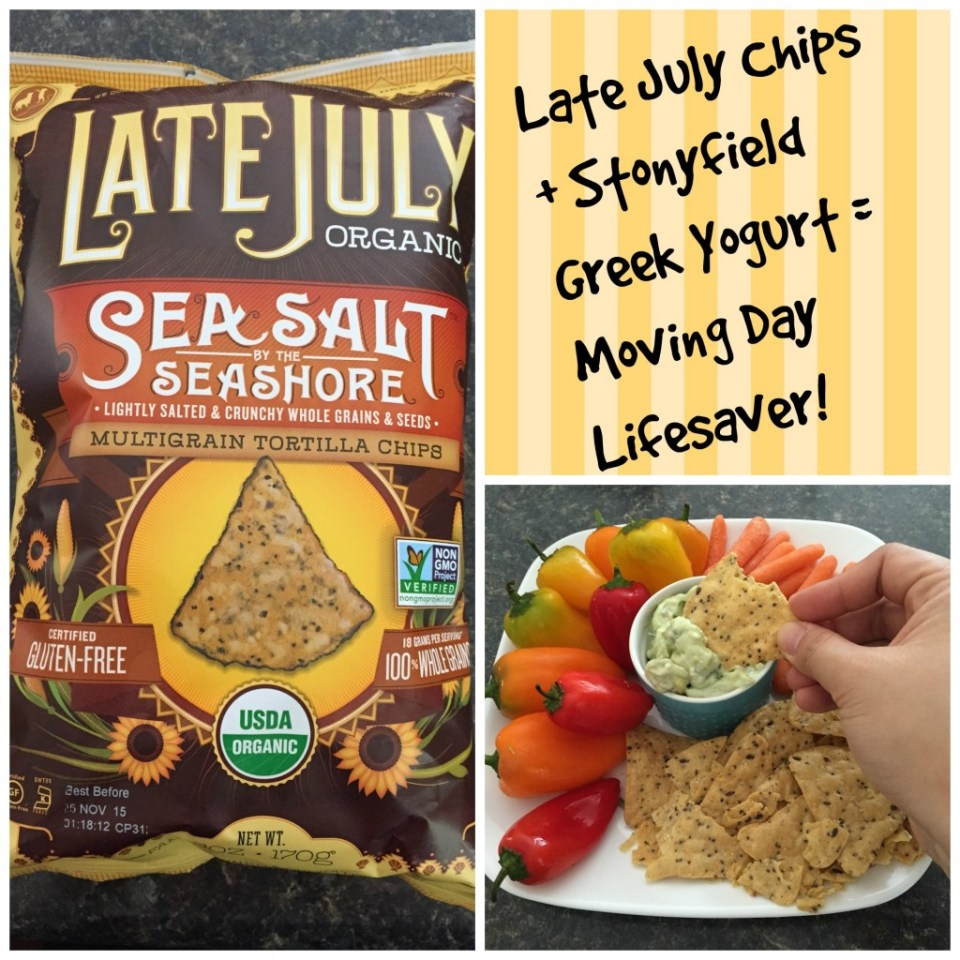 Late July Organic Chips & Stonyfield Greek Yogurt Dip