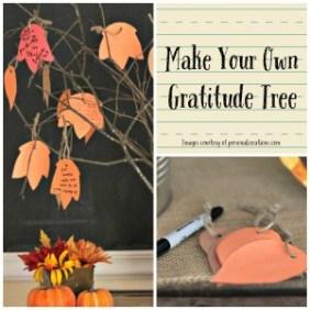 Make Your Own Gratitude Tree or Jar