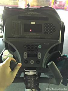 My favorite machine at the gym - the elliptical trainer