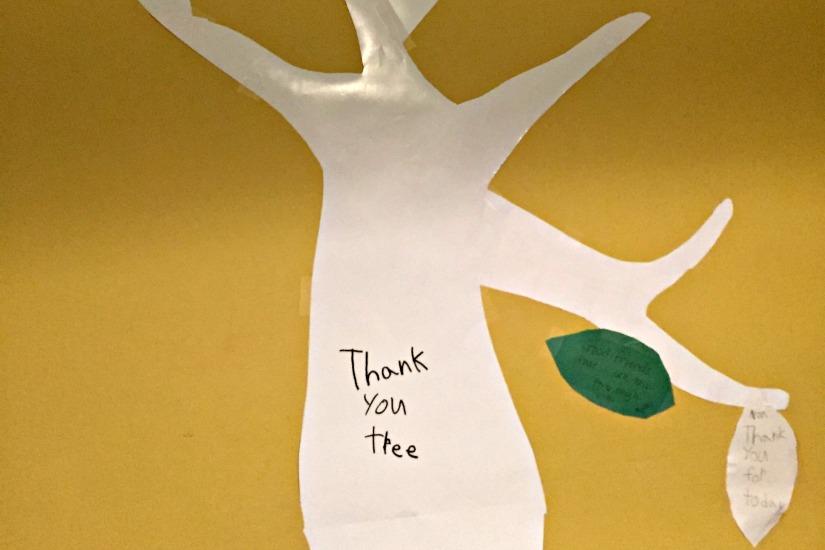 Gratitiude Tree