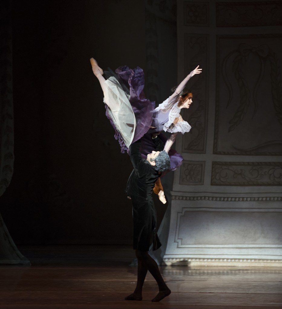 Photo by Gene Schiavone, courtesy of Boston Ballet.