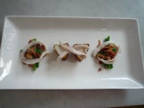 Skate & Spiced Monkfish.