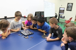 All our kids love learning and playing chess together!