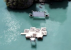 Thai Floating Cinema photo from: selectism.com
