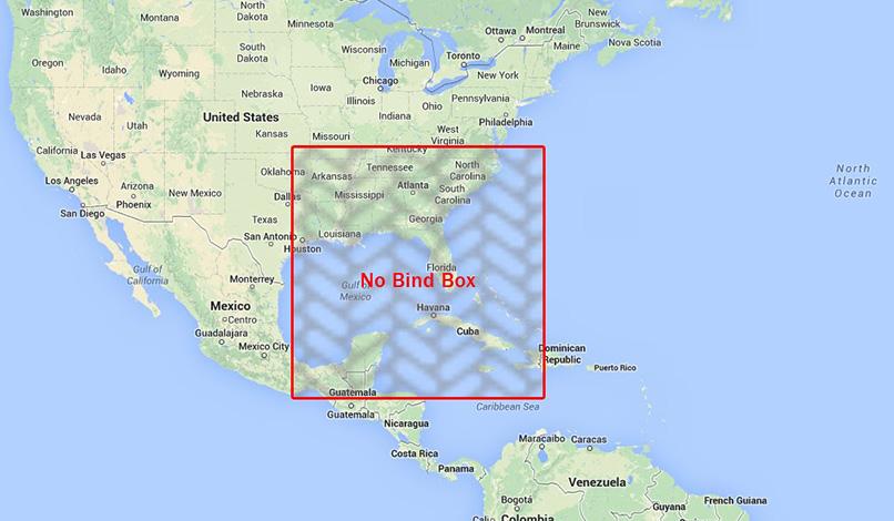 Florida No Bind box for Hurricane Elsa