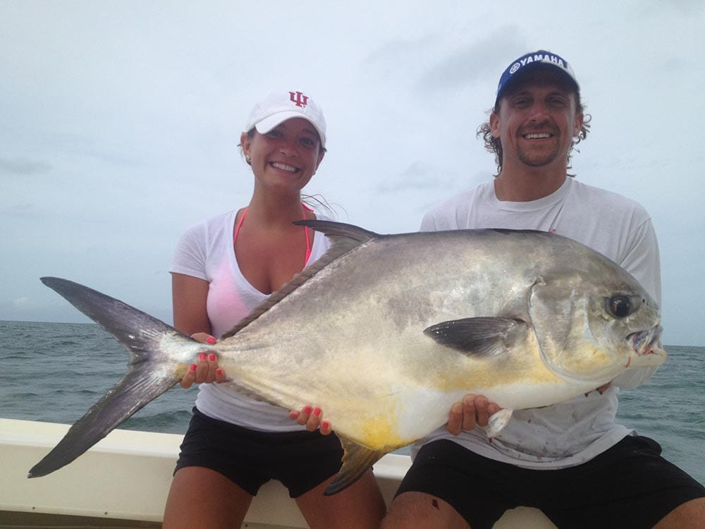 permit caught in naples