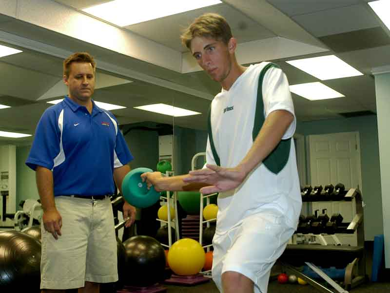 Naples Fitness Inside & Out has trained more than 15 division one tennis players