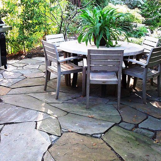 natural stone patios and walkways