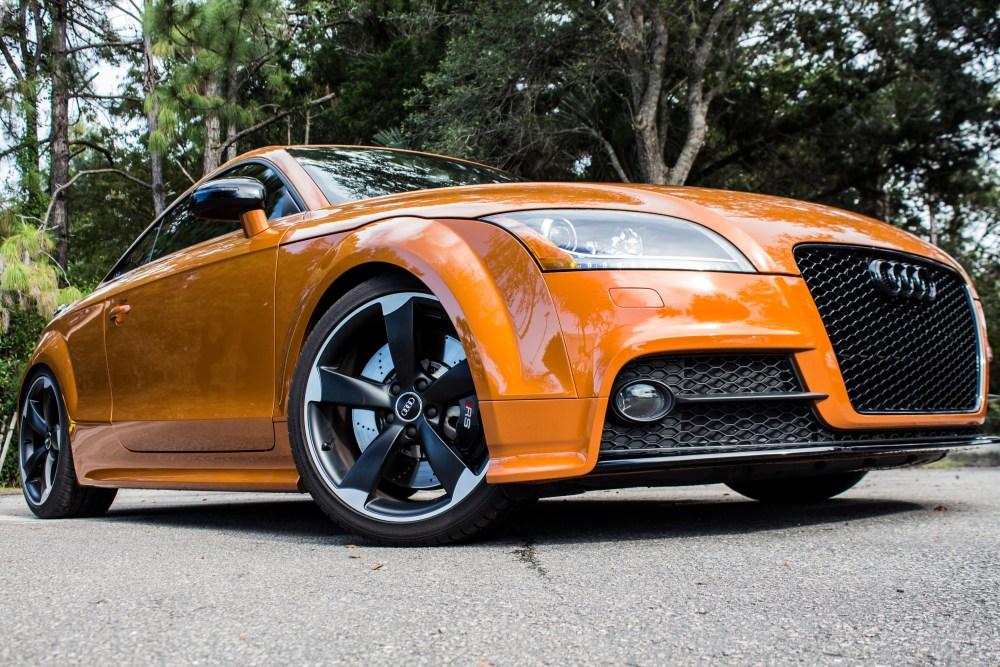 2014 Audi TT Samoa Orange