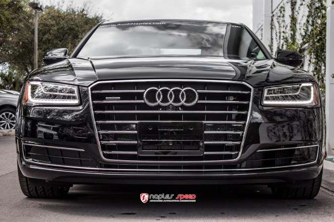 2015 A8L Savini Black Di Forza Wheels