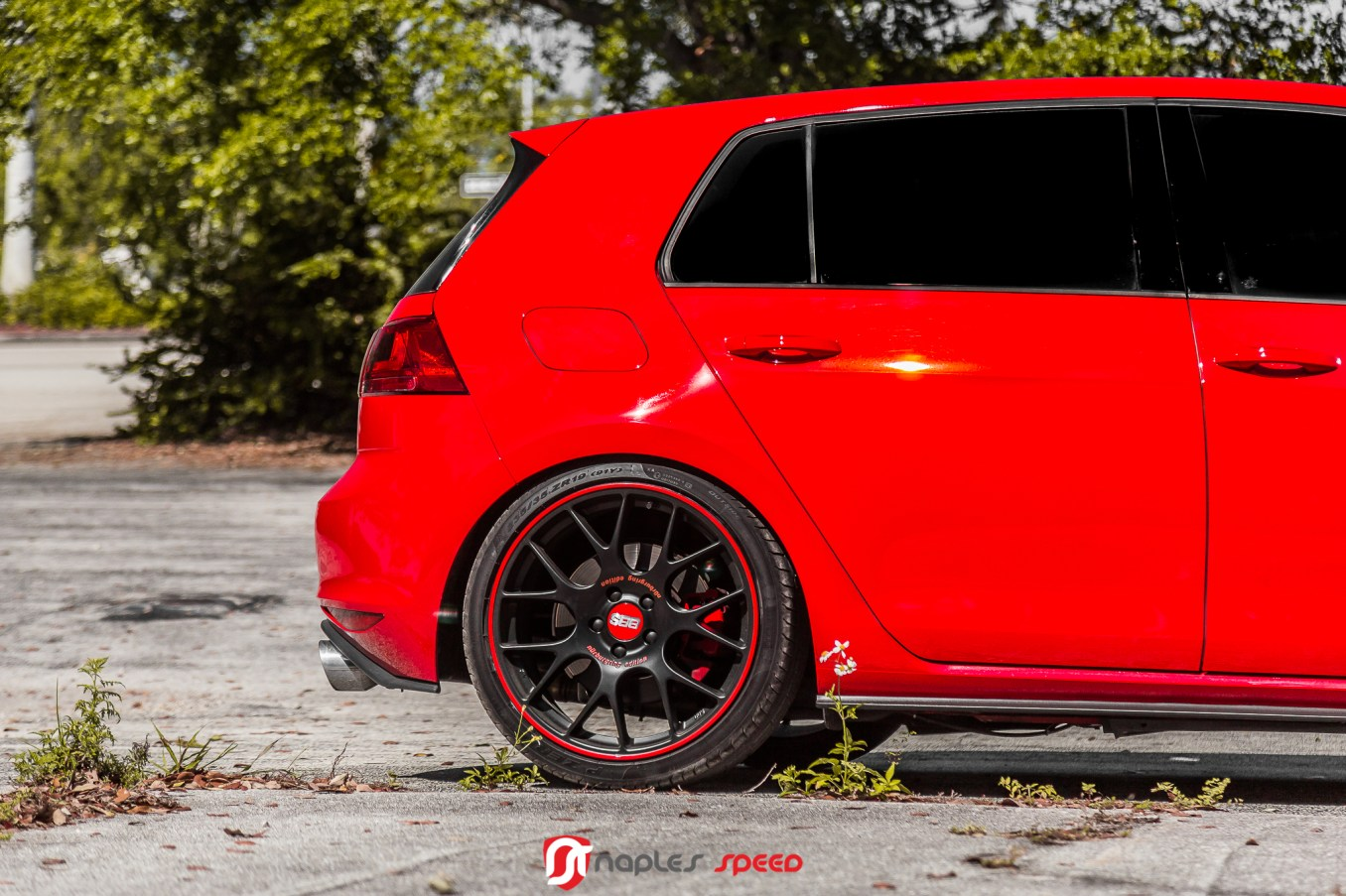 One Special Ride Vw Gti On Bbs Ch R N 252 Rburgring Edition