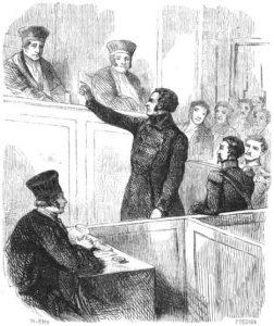 Le procès de Parquin
