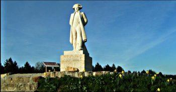 Statue de Napoléon à Craonne
