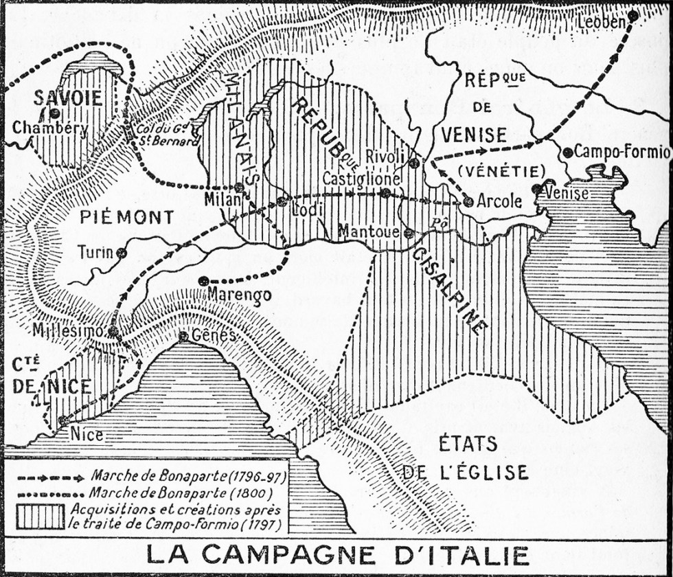 La Campagne d'Italie (1796-1797)