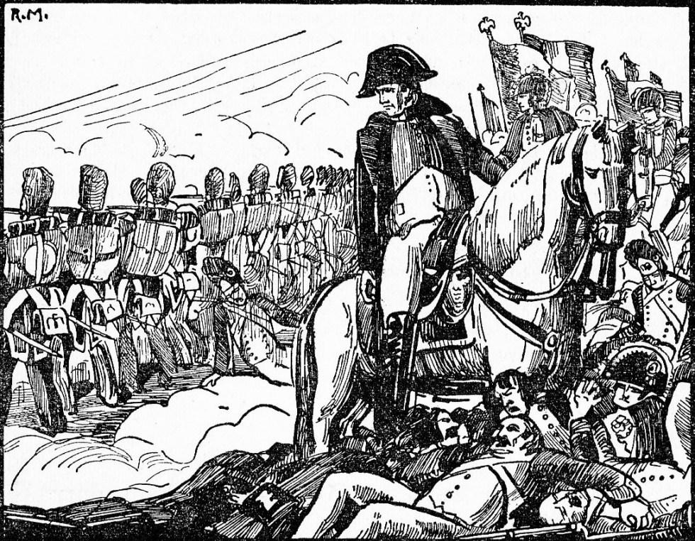 Napoléon à Waterloo (1815)