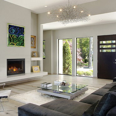 contemporary living rooms with fireplaces warm relaxing room colors design trends napoleon inspiration gallery select to view