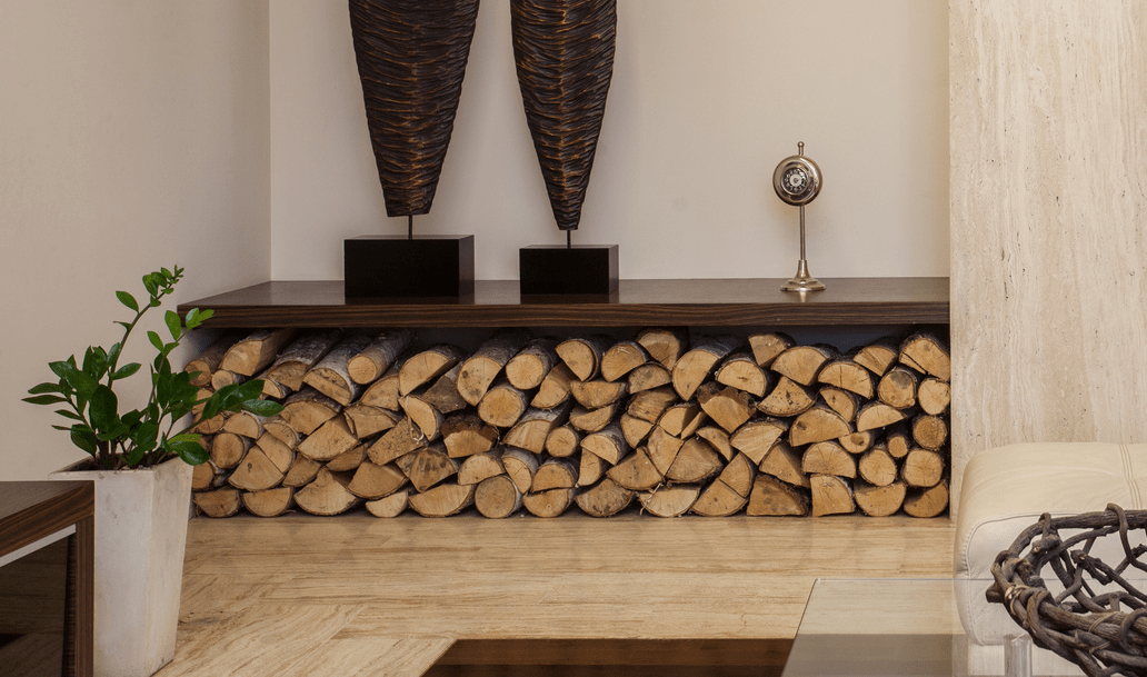 living room firewood holder interior design with corner fireplace storing indoors store style can be achieved in any space whether it outdoors