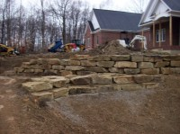 Stone Retaining Wall   Stone Seawalls   Outcropping Stone ...