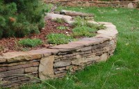 Retaining Wall Ideas   Stone Retaining Walls   Garden ...