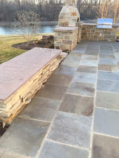 landscaping stone ideas patio