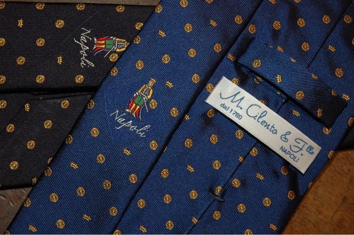 Le cravatte sartoriali di Napoli  PinkNapoli
