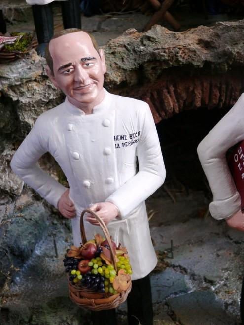 Foto I grandi chef diventano statuine del presepe  1 di 9