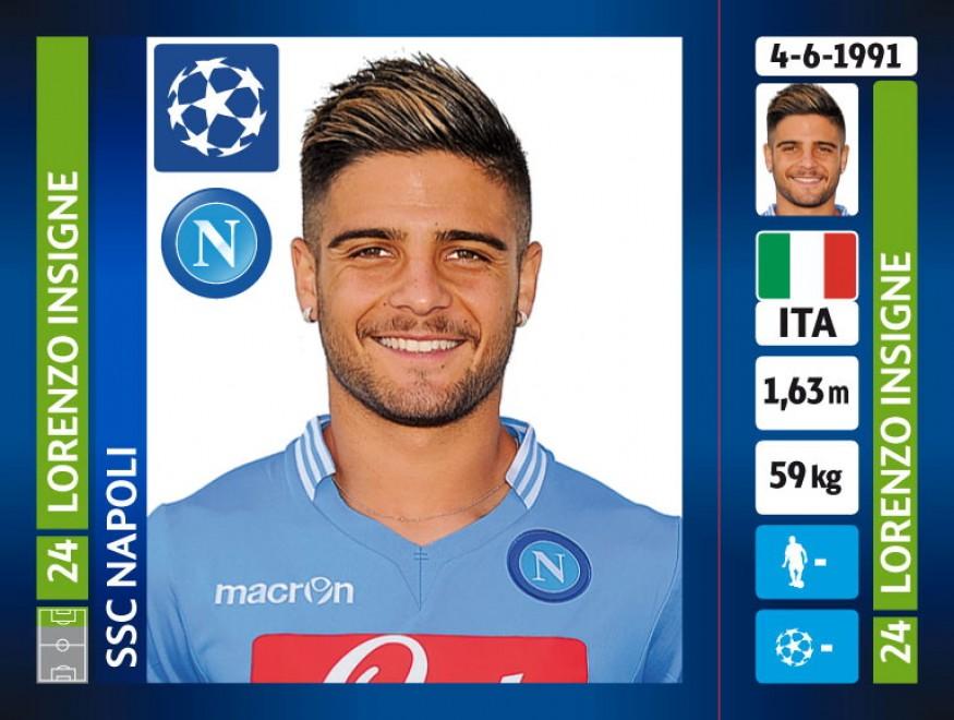 Foto Quanto Napoli nelle figurine Champions e ci sono i due grandi ex  1 di 7  Napoli