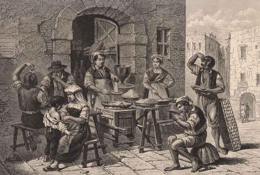 Cultura Origini e storia della cucina napoletana  Napoli Pi