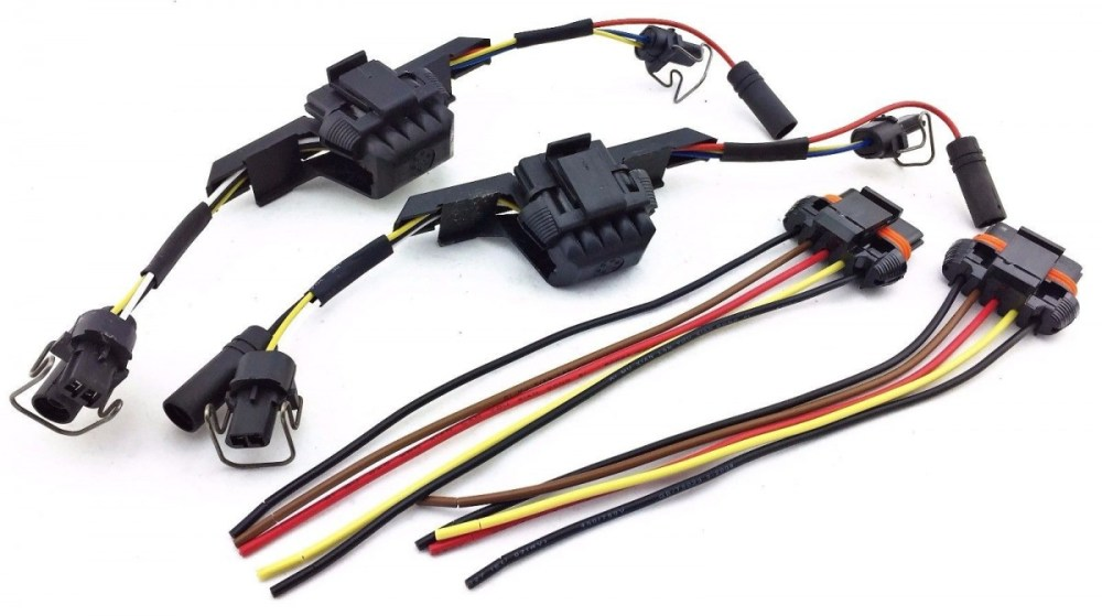 medium resolution of 1994 97 ford powerstroke diesel glow plugs injector wire ford glow plug wiring harness 1999 f250