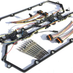 Glow Plug Wiring Diagram 7 3 1991 Gmc Sonoma Stereo 1994 1997 Ford Powerstroke 3l Diesel Plugs Kit