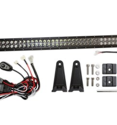 42inch 240w cree led flood spot combo light bar suv atv w wiring harness [ 1350 x 940 Pixel ]