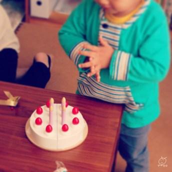 ウッディプッティの限定ホールケーキ♡