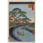100_Famous_Views_of_Edo_Five_Pines_and_Onagi_Canal