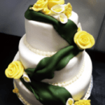 FumiesGold-WeddingCake
