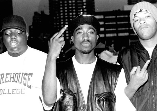 2Pac, Redman & Biggie