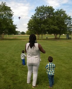 Flying Kites with Nappylocs