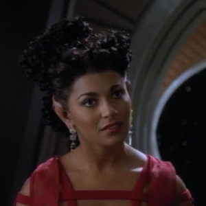"Fenna from DS9 (Deep Space 9) episode 2-9 ""Second Sight."" played by Salli Elise Richardson."