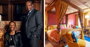 Eddie and Sylvia Brown, founders of The Ivy Hotel