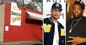 TI and Killer Mike, new owners of Bankhead Seafood restaurant in Atlanta