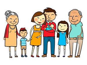 Первая линия родства - сколько стоит оформление дарения доли квартиры через нотариуса