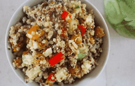 Super Simple Quinoa Salad