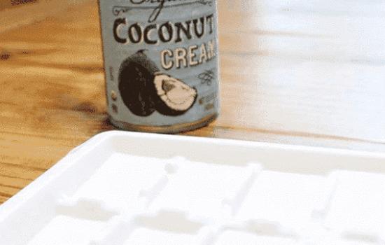 Freezing Coconut Cream
