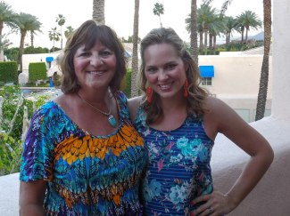 Mom and I in Palm Springs