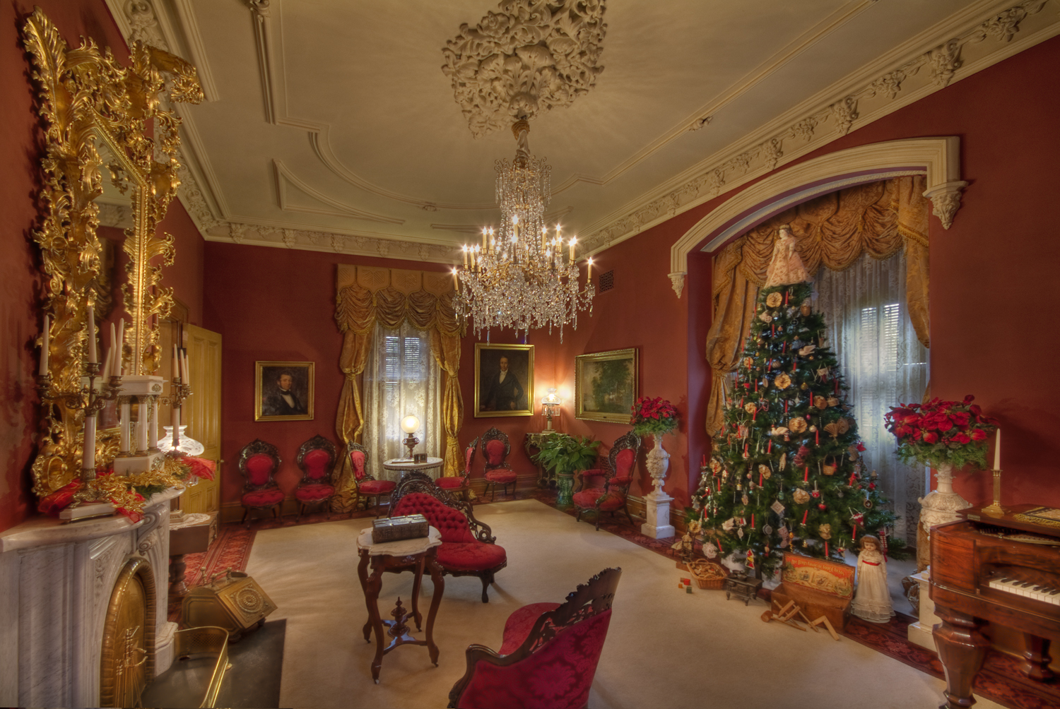 Almost the Night before Christmas at MorrisButler House