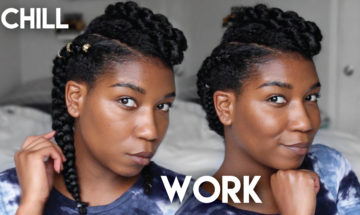 Easy Cornrow Braid For Beginners Archives Naptural85