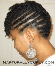 natural & transitioning hairstyle