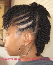 natural & transitioning hairstyle