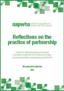 NAPWHA Reflections on the practice of partnership 2013